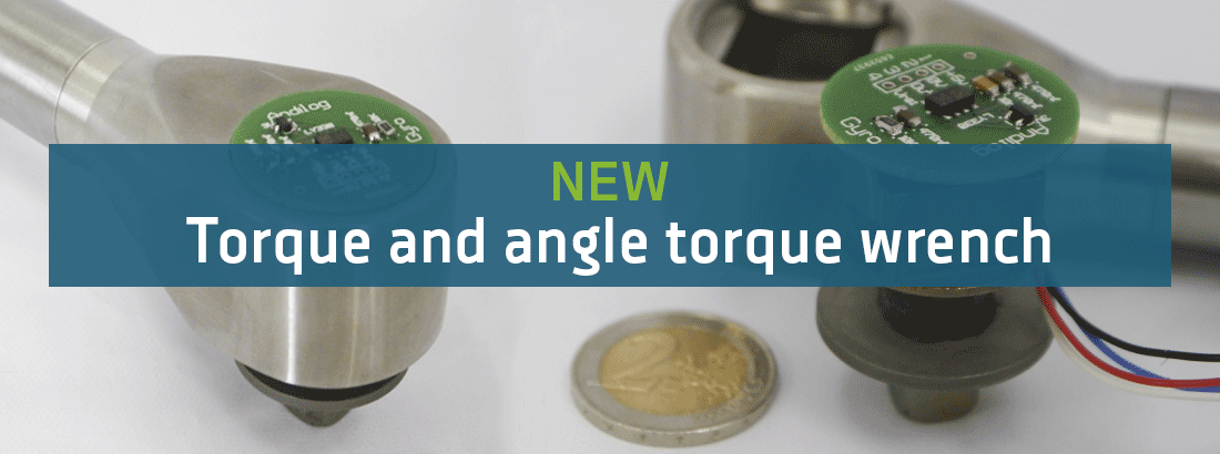 Gyrotork torque and angle gauge