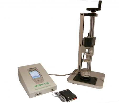 Springtest 2, high precision spring tester